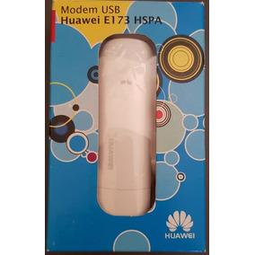 Modem 3g Usb Huawei E-173 Hspa Novo Na Caixa