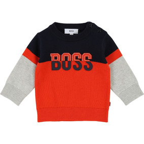 a8aa9e7427911 Sweter Hugo Boss Para Bebe 6m