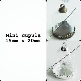 Lote Mini Cúpula De Cristal Para Joyería