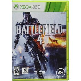 Battlefield 4 Xbox 360 Lacrado Mídia Física Em Português