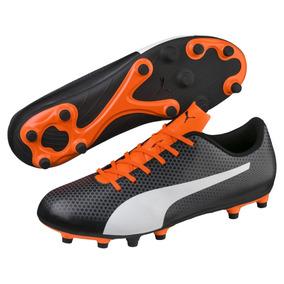 Tachones Puma Spirit Fg Negros Futbol Soccer 77d2db532a7d9