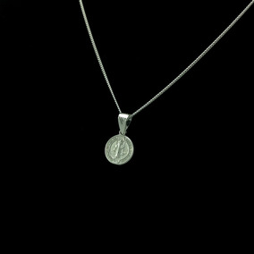 cf1c3d6984e Medalla De San Benito Plata Proteccion en Mercado Libre México