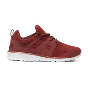 Tenis Hombre Heathrow Adys700084 635 Dc Shoes Rojo Gamuza