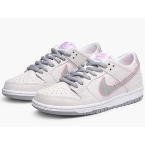 Tenis Nike Sb Zoom Dunk Low Pro Ishod War Perfect Pink Flat.