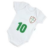 Body Infantil Bebê Estampa Portuguesa Futebol Lusa B049br 80b4e0637aea0