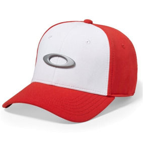 Bone Oakley Vermelho E Branco Eua - Acessórios da Moda no Mercado ... daccd2d46e6