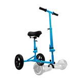 Intense Devices Hoverbike Sit, Celeste, Convierte Tu Scooter