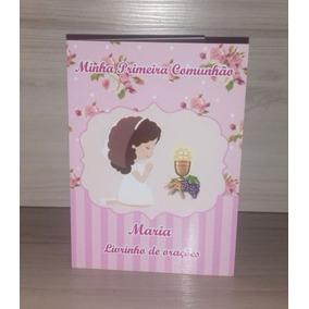 50 Livrinhos De Orações Primeira Comunhão Eucaristia Menina