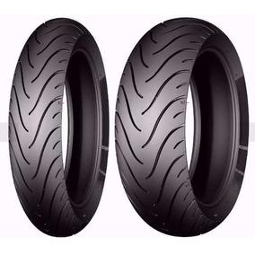 Par Pneu 110/70-17 + 130/70-17 Michelin Street Fazer Twister