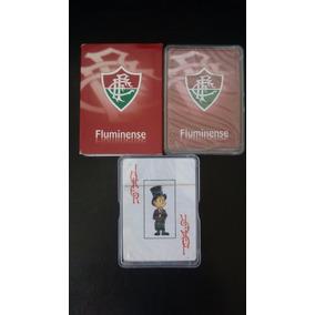 2 Baralhos Do Fluminense 100% Original Novo E Lacrado