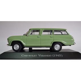 Pack Com 2 Carros Veraneio 1965 & Rural Willys 1968 1:43