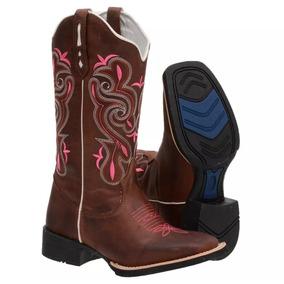 Bota Country Texana Feminina Promoção Cavalo Corda fcad81d0b3f