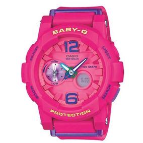 Relógio Baby-g Bga-180-4b3dr (rosa)