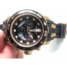 Relógio Invicta Pro Diver Preto Semi Novo Original Na Caixa