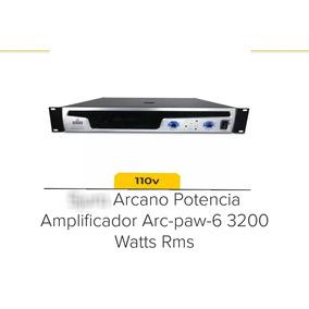 Amplificador De Potência Arcano Arc-paw-6 3200