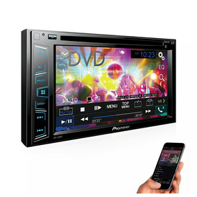 Dvd Player Com Rádio Am/fm/usb E Bluetooth Avh-298bt Pioneer