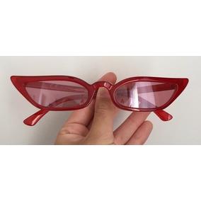 9e82a6647e011 Óculos Vintage Retro Gatinho Vermelho - Óculos De Sol no Mercado ...