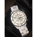 95b1438ee48 Relogio Chanel J12 Chronograph Usado no Mercado Livre Brasil