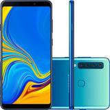 Smartphone Samsung A920f Galaxy A9 Duos Tela 6.3 128gb Azul
