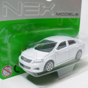 Miniatura Toyota Corolla Nex Models Welly 1/60 - White 2010