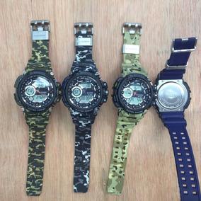7be60b35c31e Reloj Casio G Shock Camuflajeado Negro - Joyas y Relojes en Mercado ...