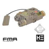 Fma An-peq 15 Com Lanterna Laser E Ir - Aeg Gbbr Airsoft