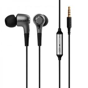 Fone De Ouvido Com Microfone Edifier P230 In Ear - Nf E Gtia