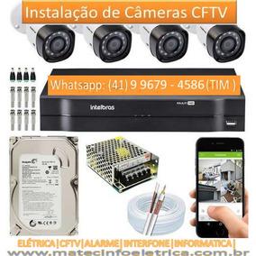 Kit Camera Seguranca Curitiba - Segurança para Casa no Mercado Livre ... e250de0841