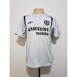 0ec396dbe8 Camisa Oficial Chelsea Inglaterra 2005 Away Umbro Tam M Rara