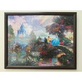 Cuadro Rompecabezas Disney Cinderella By Thomas Kinkade