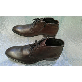 6190c7a6993fa Zapatos De Vestir De Cuero Italianos 42-43