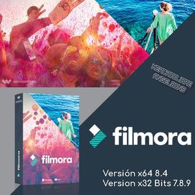 Wondershare Filmora X86 X64 8.4 Y 7.8.9 Editor De Videos