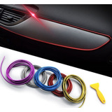 Cable Hilo Decorativo Tuning 5 Metros Interior Tablero Auto