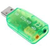 Adaptador De Sonido Micrófono Y Audio Soporte 3d Posltlonal