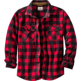 Camisa Legendary Polar Roja Tipo Leñador Escocés Talla 2xl