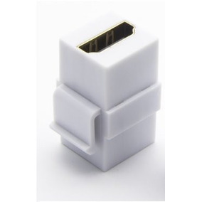Conector Jack Hdmi Com Banho De Ouro Fêmea Para Fêmea 1.4