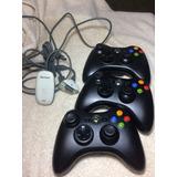 Xbox 360 Control Inalambrico + Adaptador Pc Inalambrico
