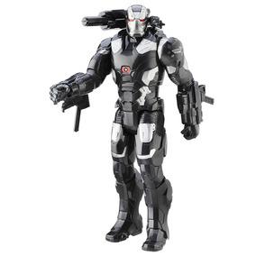 Boneco Eletrônico - Titan Hero - Marvel - Capitão América