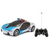 Rc Concept Police Car 1:16 Scale Full Function Control Remot