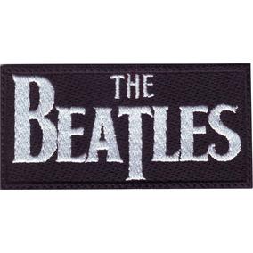 The Beatles Logo Parche Bordado Rock Bandas Música