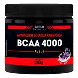 Bcaa 4000 - 4:1:1 Powder - 200g - Nitech Nutrition