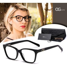 Armação Oculos Ogrife Og 508-c Feminino Com Lente Sem Grau. R  80 24735d0958