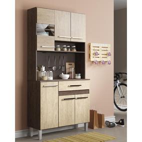 Armário Para Cozinha Decibal Ac610 6 Portas 1 Gaveta