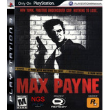 Max Payne 1 ~ Ps3 Digital Español