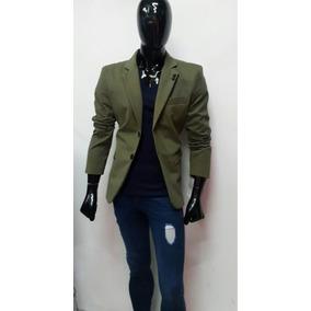 Moderno Saco Hombre Caballero Corte Slim Fit
