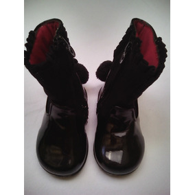 f9e2d0d62b8 Botas Negras Altas De Niñas - Zapatos en Mercado Libre Venezuela