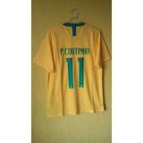 9eb1ff9a3f Camisa Da Selecao Brasileira Coutinho - Camisa Brasil Masculina no ...