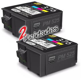 Kit 2x Cartucho Compatível Epson 376 Pm525 T376020-al T376