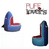 Puff Lovers Tiburon Sharky Pregunta Por Envio Gratis