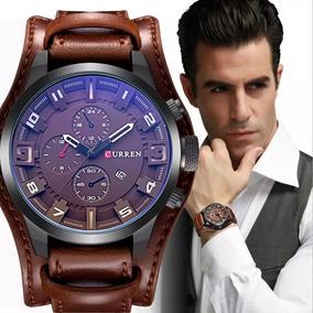 Relógio Masculino Bracelete Curren Original 8225 Barato